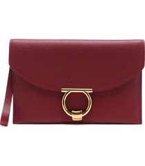 salvatore ferragamo margot clutch