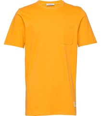 slhgilroy ss o-neck tee w t-shirts short-sleeved gul selected homme