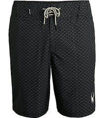 micro geo print swim shorts