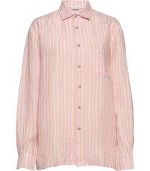 jokapoika 2017 linen shirt långärmad skjorta rosa marimekko