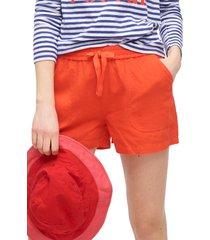women's j.crew point sur seaside linen blend shorts