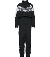 hmlceline jumpsuit sweat-shirts & hoodies tracksuits - sets zwart hummel hive