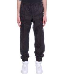 helmut lang pants in black nylon