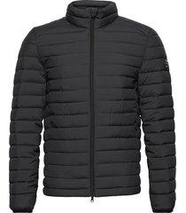 beret jacket man fodrad jacka svart ecoalf
