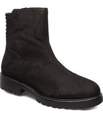 kenova shoes boots ankle boots ankle boots flat heel svart vagabond