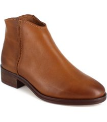 women's georgie leather ankle booties women's shoes