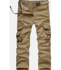 cargo pantaloni in cotone
