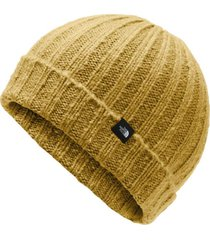gorro chunky rib amarillo the north face