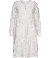 mila ls midi dress korte jurk wit second female