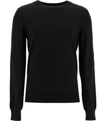 maison margiela sweater with elbow patches