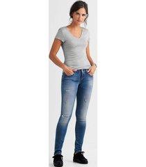 jeans luz hyperflex skinny fit