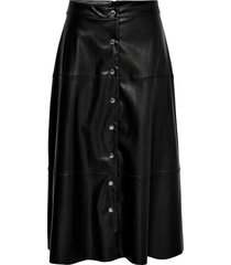 middellange rok leatherlook