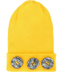 0711 meribel beanie - yellow