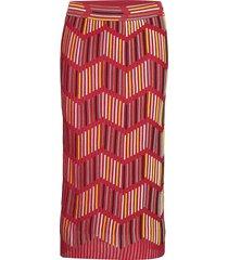 2dh00054-2k002b knälång kjol röd m missoni