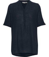 frjaslub 4 shirt blouses short-sleeved blå fransa