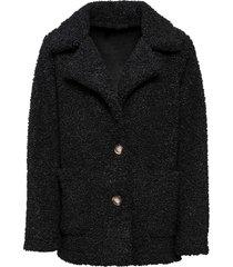 cappotto in pellicciotto sintetico (nero) - bodyflirt