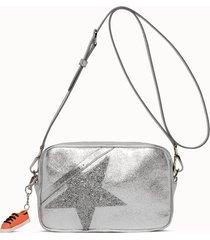 golden goose deluxe brand borsa star colore argento