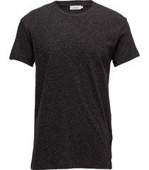 uhrskov o-n ss 6360 t-shirts short-sleeved svart samsøe samsøe