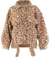 ambika giraffe oversized jacket
