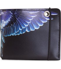 marcelo burlon county of milan wings chain wallet