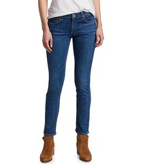 rag & bone women's dre low-rise slim boyfriend jeans - mission - size 32 (10-12)