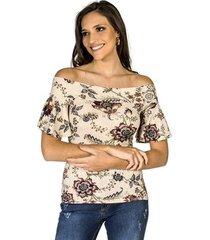 blusa estampada new garden colcci feminina