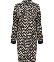 jurk blouse print