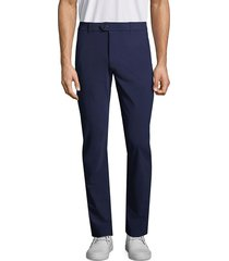 greyson men's straight-fit trousers - wolf - size 36 32