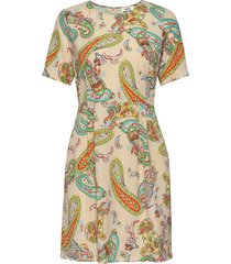 neo paisley deily jurk knielengte multi/patroon mads nørgaard