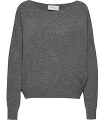 damsville stickad tröja grå american vintage