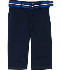 ralph lauren blue trousers with belt