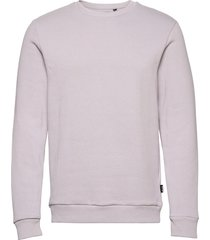 onsceres life crew neck noos sweat-shirt tröja grå only & sons