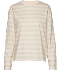 linnett top t-shirts & tops long-sleeved crème filippa k