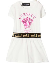 young versace white dress