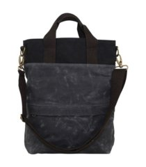 cb station waxed canvas all day tote