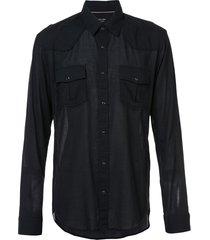 osklen travel shirt - black