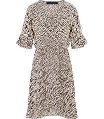 jurk cheetah dames beige