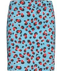 love moschino skirt kort kjol blå love moschino