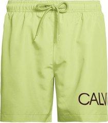calvin klein heren zwembroek drawstring - groen