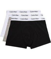 calvin klein underwear boxer briefs set - black