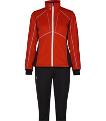 murto w xct softshell set outerwear sport jackets rood halti