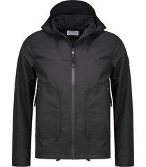 jas hoody jacket techshell zwart (101230 - 999)