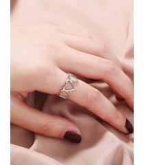 1 pieza corazón anillo de decoración