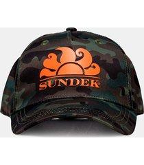 sundek toru - cappellino con stampa 'camouflage