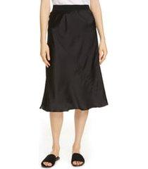 women's atm anthony thomas melillo pull-on silk skirt