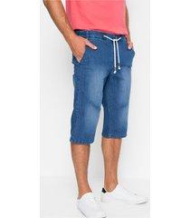 lange jeans bermuda met comfort belly fit