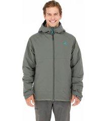 chaqueta navarino impermeable gris andesgear