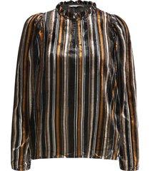 fuiapw bl blouse lange mouwen zwart part two
