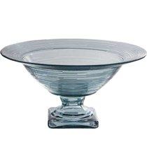 fruteira com base frisson clear 35 cm vidrios san miguel