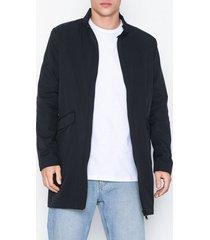 selected homme slhluke coat b jackor mörk blå